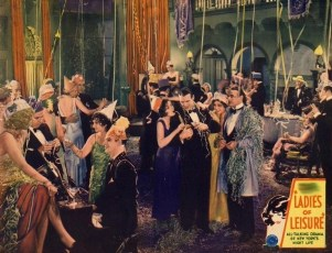 Ladies of Leisure (1930) lobby card