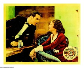 Ten Cents a Dance (1931) Lobby Card