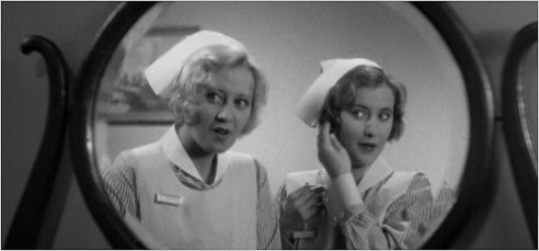 With Joan Blondell