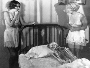 With Joan Blondell - pre-code scene