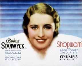 Shopworn (1932) Poster