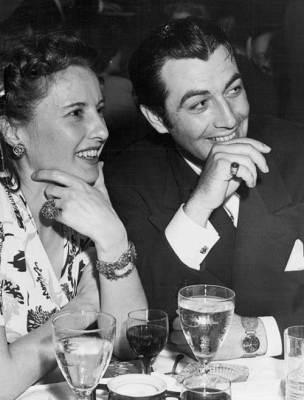 Barbara Stanwyck Biography: Out and about with husband Robert Taylor
