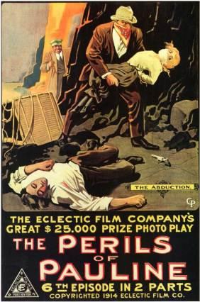 Poster of Perils of Pauline Serial Films
