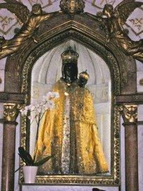 Statue der schwarzen Jungfrau
