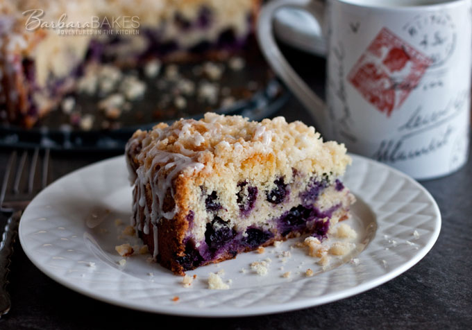 Lemon Blueberry Coffee Cake Recipe Barbara Bakes