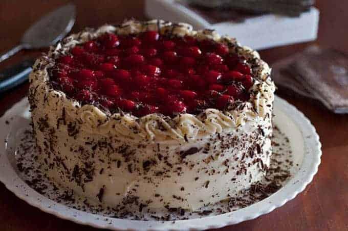 Black Forest Cheesecake Cake Recipe Barbara Bakes