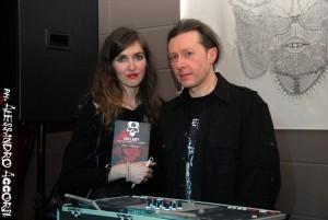 Barbara Baraldi e Gianfranco, dj del Grotesque e dello storico Condor