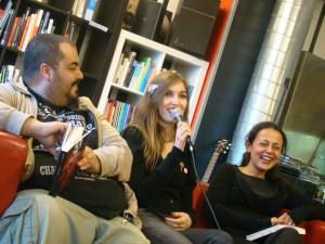 da sinistra: Enzo Bodycold, Barbara Baraldi e Alessandra Buccheri