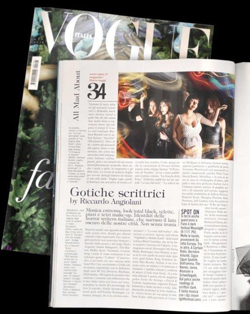 Gotiche scrittrici su Vogue