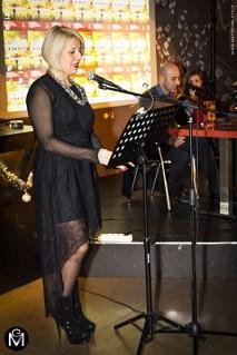 Serena Fornaciari legge l'enigma di Aelia Laelia Crispi