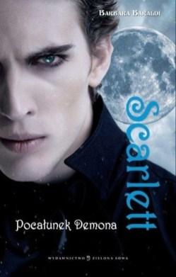 L'edizione polacca di Scarlett il bacio del demone. Editore Zielona Sowa.