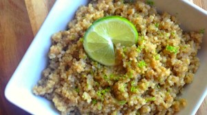 4 Ingredient Coconut Lime Quinoa