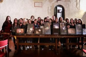 Foto di gruppo a Casapoesia Todi