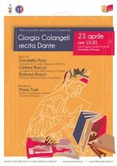Colangeli recita Dante