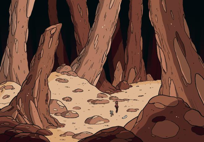 Hilda y el bosque de piedra, Luke Pearson
