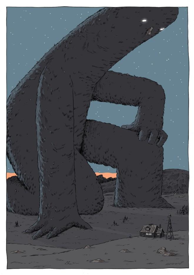 Hilda y el gigante de medianoche, Luke Pearson