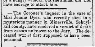 Death Notices and Obituaries – Not the Only Evidence of Death Dates Culled from Historical Newspapers