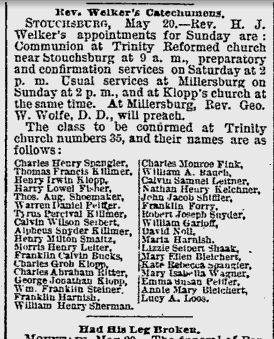 Pesky Unknown Middle Names in Church Records