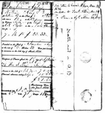 Revolutionary War Pension Application Files