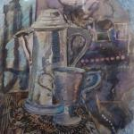 pewter jugs oil