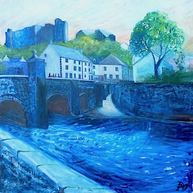 Shades of blue Haverfordwest 412