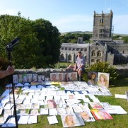 'One show portrait challenge' in St Davids