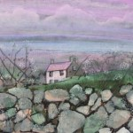 Pembrokeshire wall watercolour