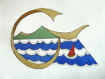 original painting of logo