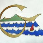 original painting of logo