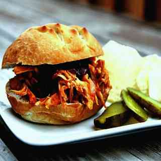 Pulled Chicken Sandwich