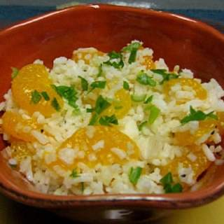 Rice with Tropical Fruit