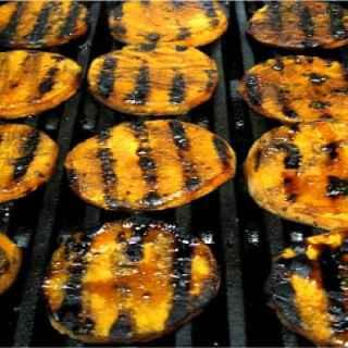 Rum Glazed Sweet Potatoes