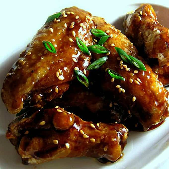 Sweet Sesame Soy Wings