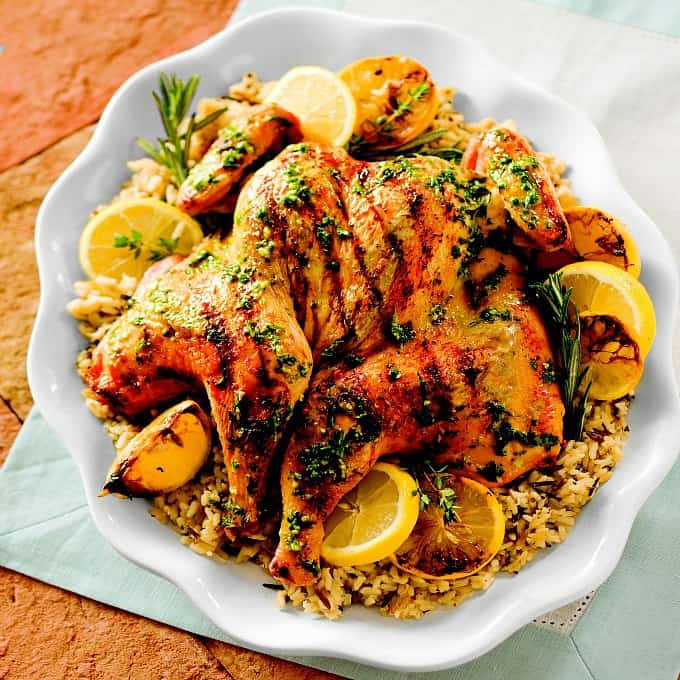 Herb and Lemon Grilled Chicken