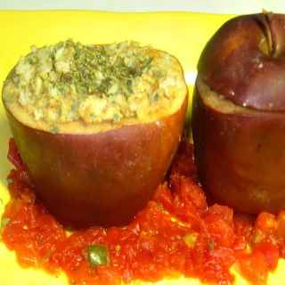 Savory Stuffed Apples