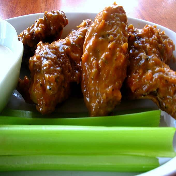 Angry Hot Wings