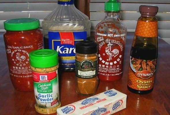 Vietnamese Wing Ingredients