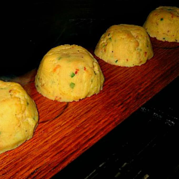 Plank Smoked Mashed Potatoes