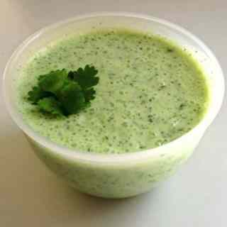 Mint Lime Dipping Sauce