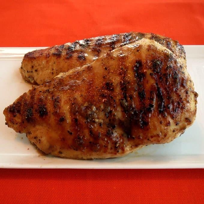 Maple Mustard Grilled Chicken Breasts