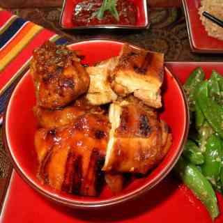 Korean BBQ chicken (dak gogi)