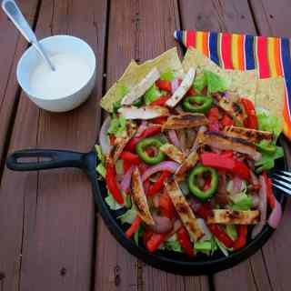 Fajita Caesar Salad