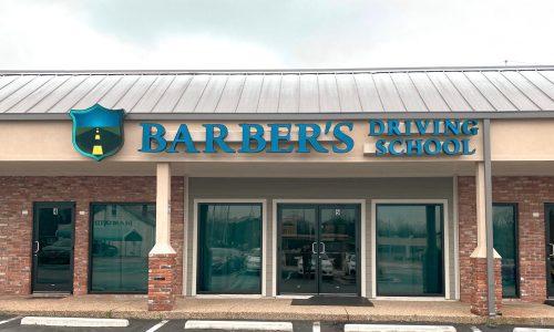 Barber's Building Front