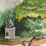 Lincoln Park statue