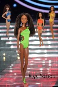 Miss Barbie Vanuatu - Janet