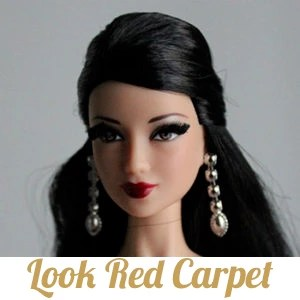 Barbie Look Red Carpet