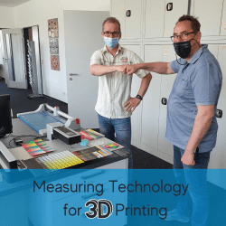 Color measuring technology for 3D printing