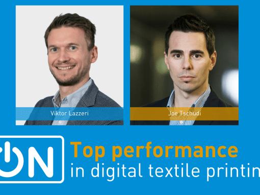 Top performance in digital textile printing