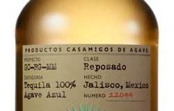 Casa Amigos Tequila Bottle & Label