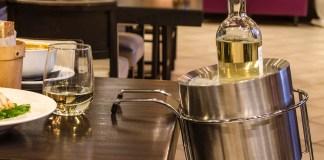 Table Side Wine Holder & Chiller